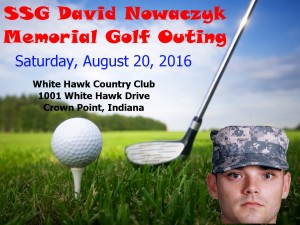 SSG David Nowaczyk Golf Outing