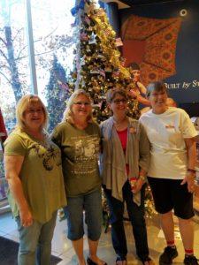 2016 Gold Star Christmas Tree