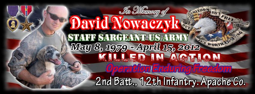 SSG David Nowaczyk Memorial Fund Logo