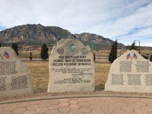 Fort Carson Colorado Memorial